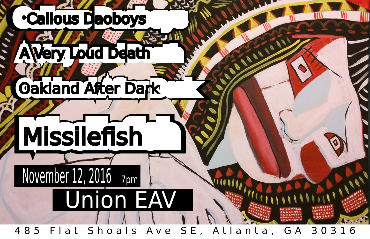 The Union EAV Flyer