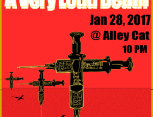 A Very Loud Death – Alley Cat Flyer
