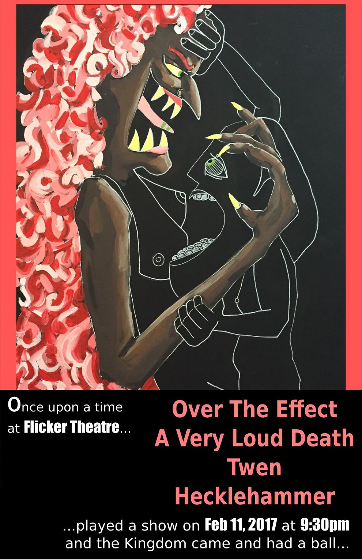 A Very Loud Death Live @ Flicker Bar Flyer